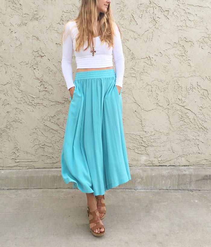 My mamas skirt 1