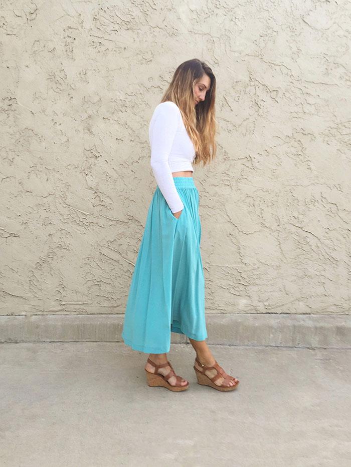 My mamas skirt 2