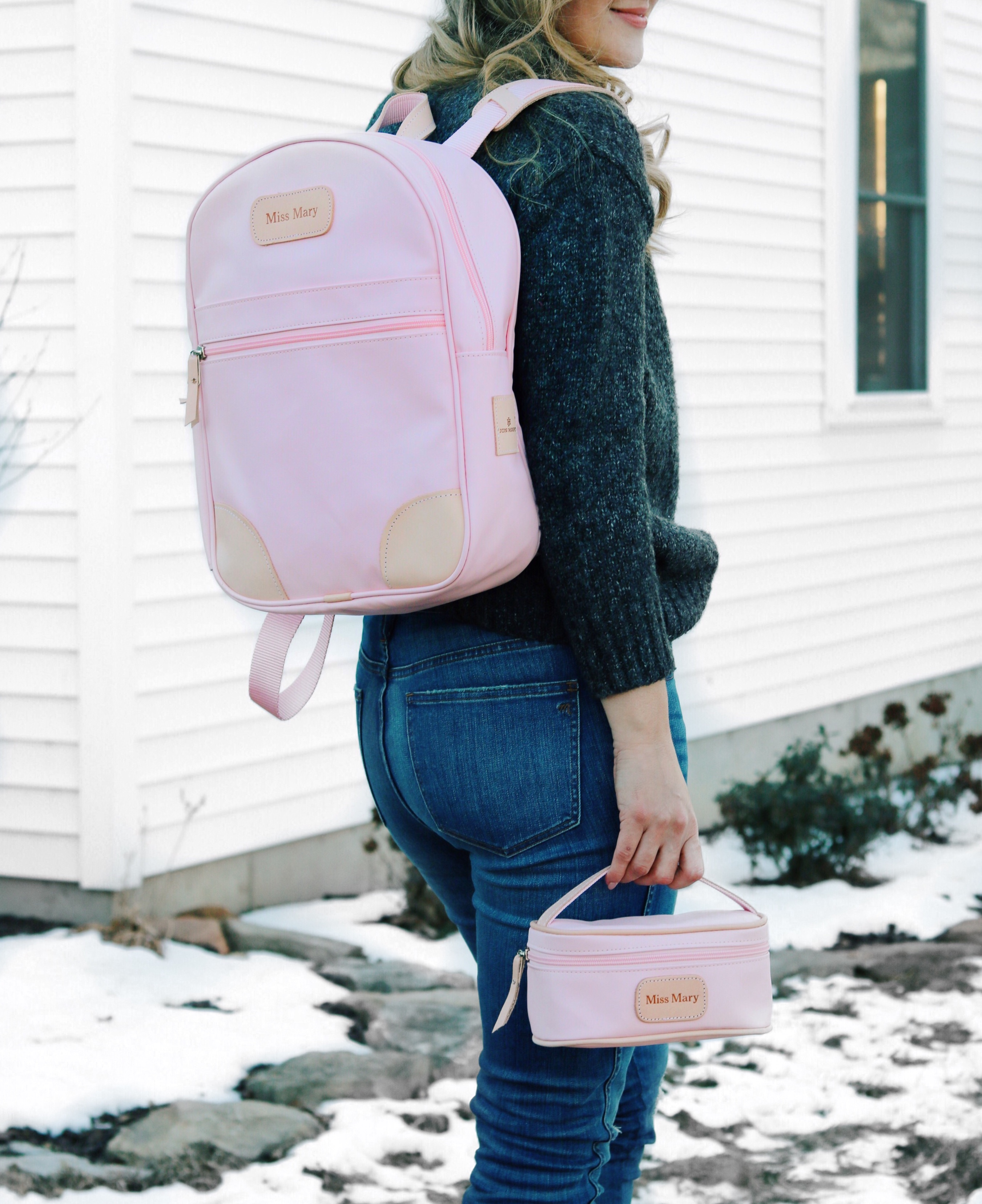 Jon Hart Design Backpack And Makeup