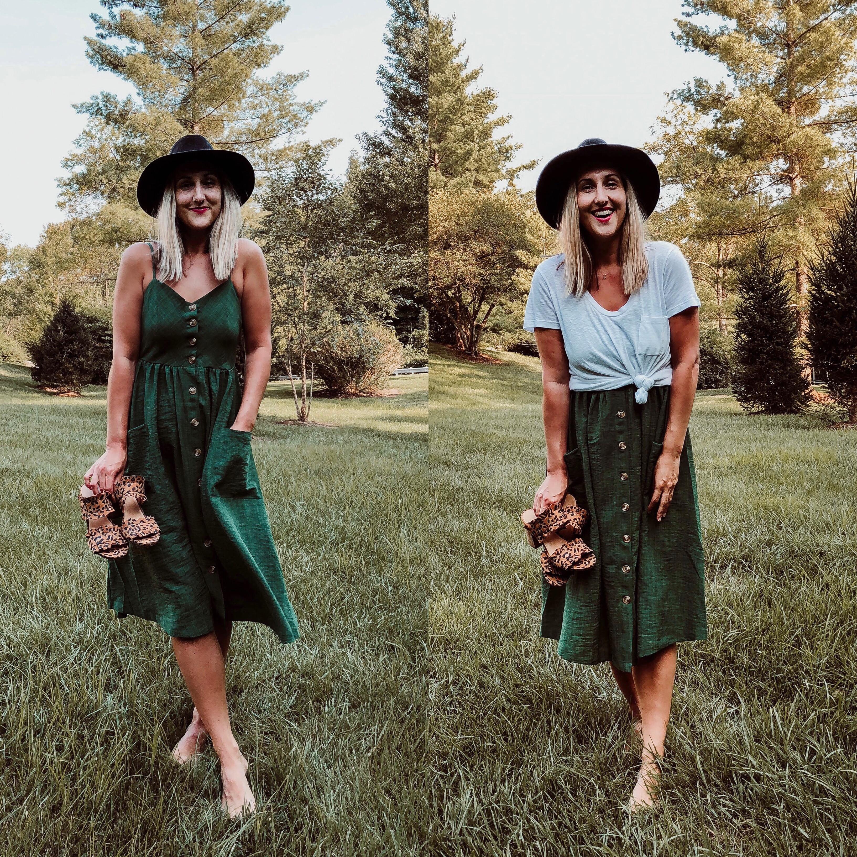 One Dress 2 Ways Miss Mary Powers